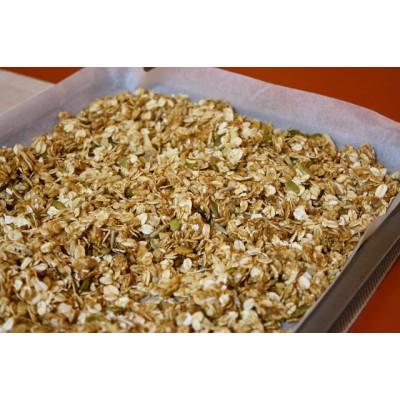 Healthy Recipe: Breakfast Granola Oats