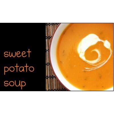 Healthy Recipe: Sweet Potato Soup