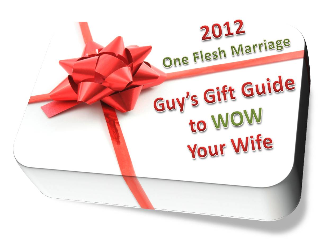 2012 guy s gift guide to wow your wife one flesh marriage Christmas presents for wife