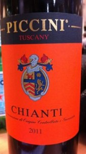 Piccini Orange Label Chianti wine review