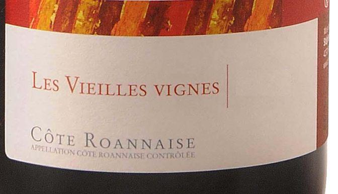 Côte Roannaise, Vieilles Vignes Wine Society review