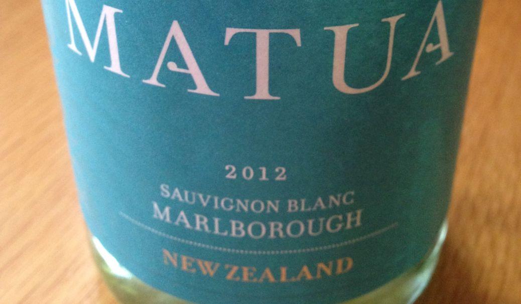 Matua Sauvignon Blanc 2012, New Zealand wine, Christmas party wine