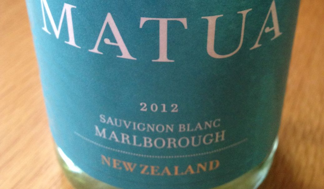 Matua Sauvignon Blanc 2012, New Zealand wine, Christmas party wine
