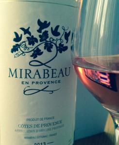 Mirabeau Côtes de Provence Rosé 2013 wine