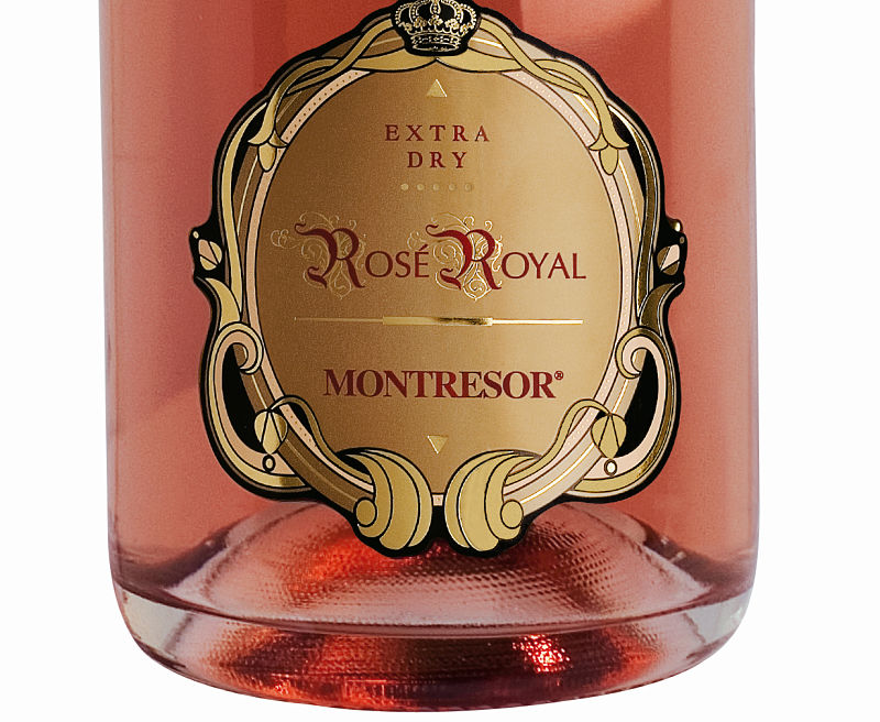 Rosé Royal Pinot Noir Spumante, Giacomo Montresor mother's day wine
