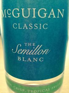 McGuigan Classic Semillon Blanc 2012