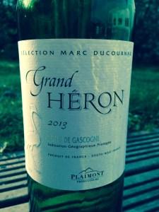 Grand Heron Grand Héron White 2013