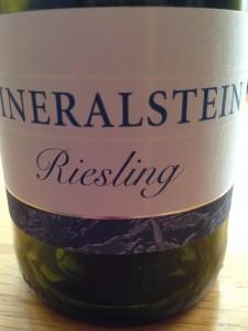 Mineralstein Riesling