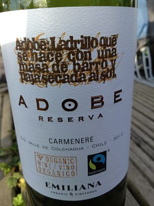 Adobe Reserva Carmenere wine review
