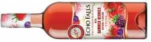 Echo Falls Fruit Fusion Rose Wine with Summer Berries