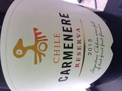 SPAR Chilean Reserva Carmenere wine review
