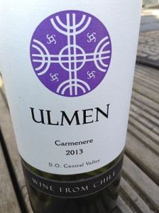 Ulmen carmenere wine review
