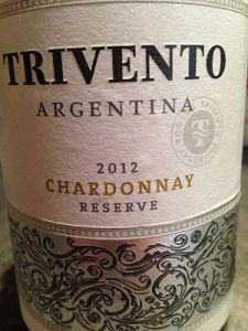 trivento chardonnay argentina