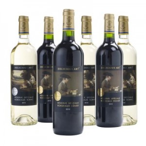 Christmas gift ideas: Bordeaux from the National Gallery's Delicious Art range