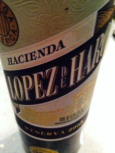 Lopes de Haro Reserva Rioja 2005 review