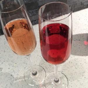 Valentine's Day sparkling pink wines