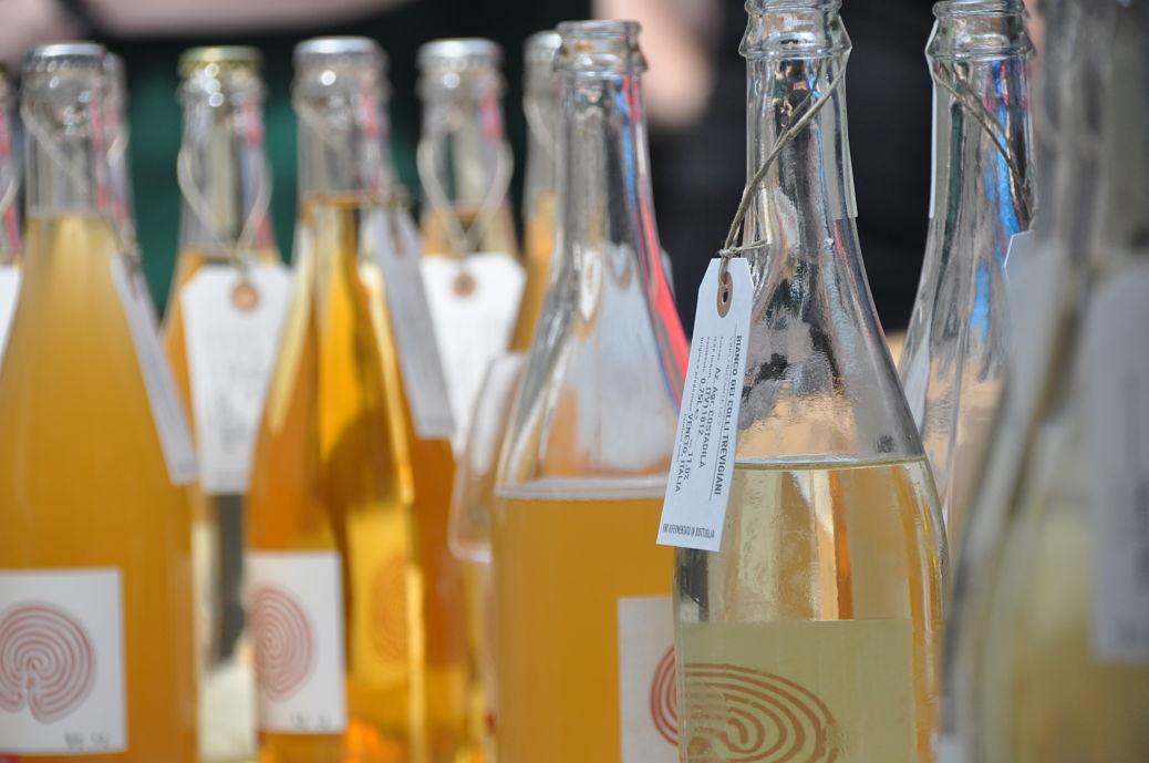 Natural wines, credit RAW artisan wine fair