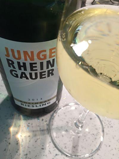 LIdl wines Rheingau Riesling, Junge Rheingauer, Rheingau 2013