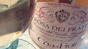 Rosa dei Frati 2014 summer pink wines