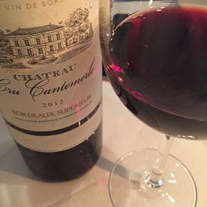 Château Cru Cantemerle, Bordeaux Supérieur 2012, Dine with Bordeax 2015