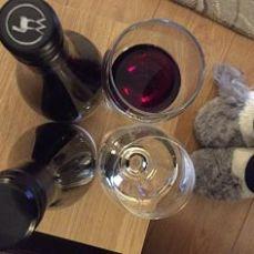 twitter wine tasting slippers
