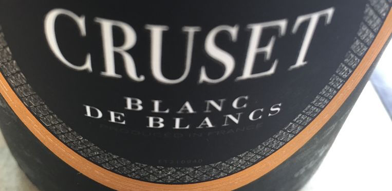 Cruset Sparkling Blanc de Blancs NV summer wine
