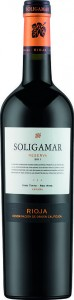 Soligamar Soligamar Reserva Rioja 2011 Lidl wine cellar