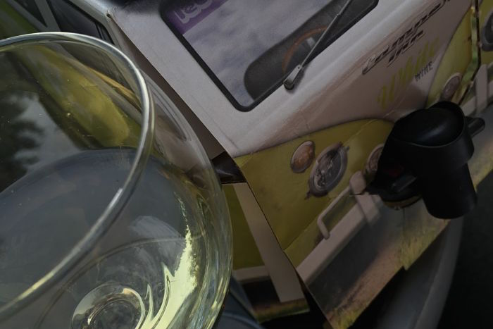Camper Vin is wine for campers and festival-goers. But what's it like?