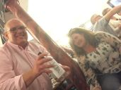 Chris Dace Crosby gin tasting