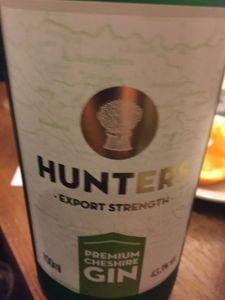 Hunters Premium Cheshire Gin Dace Crosby gin tasting
