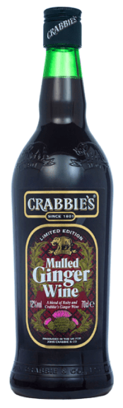 Crabbies Mulled Ginger Wine Christmas drinks