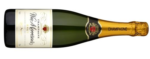 Wm Morrison Champagne Brut NV supermarket champagne