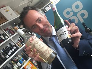 Ben Cahill Co-operative wine buyer