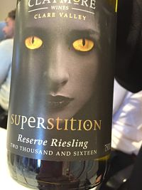 Claymore Wine Superstition