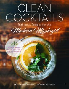 Clean Cocktails book Christmas gifts for drink lovers