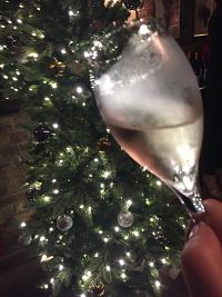 gosset champagne christmas tree