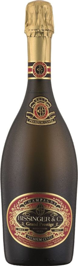 Bissinger Champagne 1er Cuvee Brut New Year's Eve wine