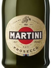 Martini Prosecco Christmas party drinks