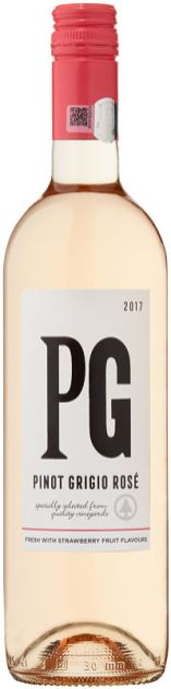 Spar Alphabet Series Pinot Grigio Rose wine