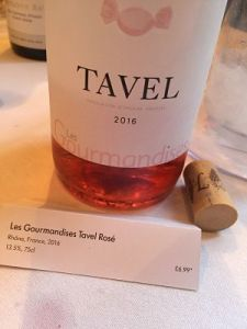 Les Gourmandises Tavel Rosé Lidl Wine Tour