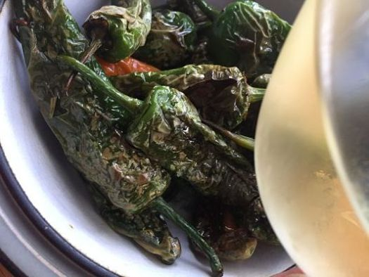 International sherry week padron peppers tio pepe