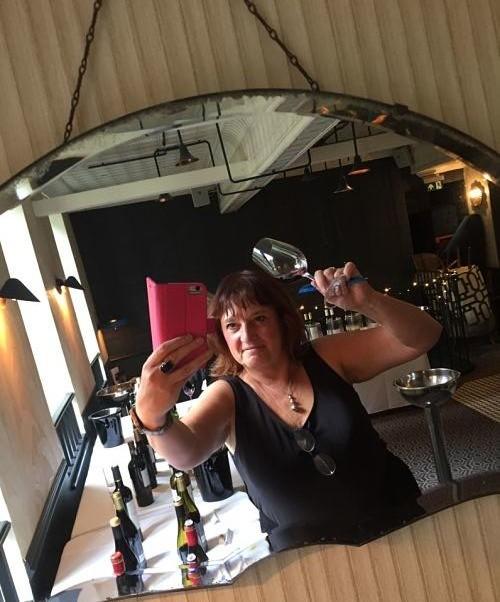 Jane Clare Lidl wine tasting