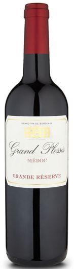 Grand Plessis Médoc festive red wines