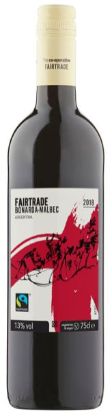 Co-op Fairtrade Bonarda Malbec Faitrade wine