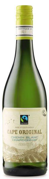 Fairtrade wine Chenin Chardonnay Aldi