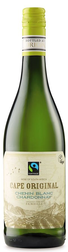Fairtrade wine Chenin Chardonnay Aldi