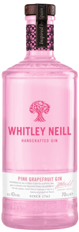 Whitley Neill Pink Grapefruit Gin gin reviews