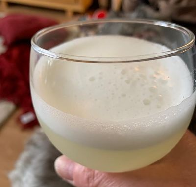 GIn Sour lockdown drinks