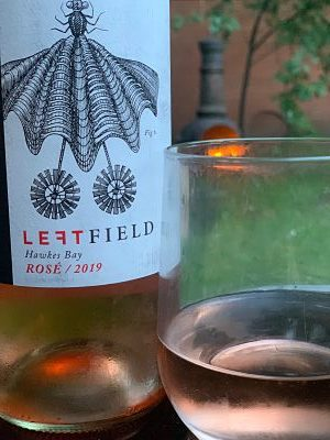 Summertime pink -Leftfield Hawkes Bay Rosé in the garden