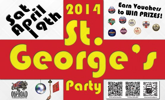 2014 St. George's Day Party event Gallery